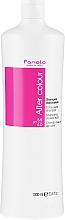 Perfumería y cosmética Champú para después de la coloración con aceite de lino - Fanola After Colour-Care Shampoo