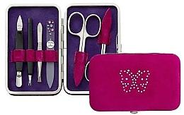 Perfumería y cosmética Kit de manicura, 6 piezas, rosa - DuKaS Premium Line PL 125RM