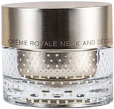 Perfumería y cosmética Crema antiedad de cuello y escote con jalea real, oro 24K y extracto de proteína de maíz - Orlane Creme Royale Neck and Decollete