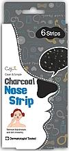 Perfumería y cosmética Tiras nasales antipuntos negros con carbón - Cettua Charcoal Nose Strip