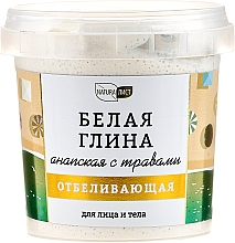 """Perfumería y cosmética Arcilla blanca con hierbas para rostro y cuerpo """"Anápskaya"""" - NaturaList"""