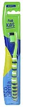 Perfumería y cosmética Cepillo dental suave, verde - Ecodenta Soft Toothbrush For Children