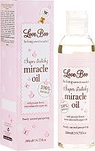 Perfumería y cosmética Aceite antiestrías con extracto de argán, flor de la pasión y mandarina - Love Boo Miracle Oil