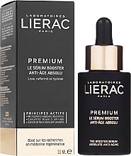 Sérum facial antiedad con ácido hialurónico y extracto de orquídea negra - Lierac Exclusive Premium Serum Regenerant — imagen N1