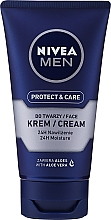 Perfumería y cosmética Crema aftershave protectora con jugo de aloe vera - Nivea For Men After Shave Cream