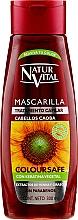 Perfumería y cosmética Mascarilla para cabello teñido caoba - Natur Vital Coloursafe Henna Hair Mask Mahogony Hair