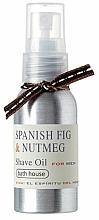Perfumería y cosmética Bath House Spanish Fig and Nutmeg - Aceite de afeitar con higo español & nuez moscada
