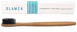Perfumería y cosmética Cepillo dental con carbón de bambú - Glamza Activated Charcoal Infused Bamboo Toothbrush