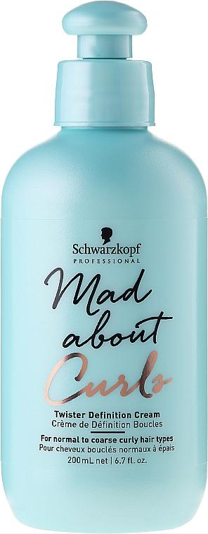 Crema definidora de rizos con aceite de jojoba - Schwarzkopf Professional Mad About Curls Twister Definition Cream