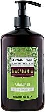 Perfumería y cosmética Champú con aceite de argán y macadamia - Arganicare Macadamia Shampoo