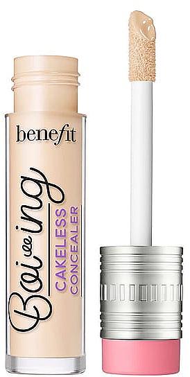 Corrector facial líquido de alta cobertura y larga duración, resistente al agua - Benefit Cosmetics Boi-ing Cakeless Concealer
