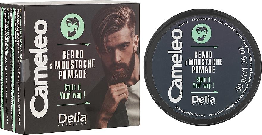 Cera modeladora para barba y bigote - Delia Cameleo Men Beard and Moustache Pomade