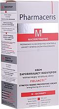 Perfumería y cosmética Crema corporal hipoalergénica con ácido fólico y aceite de semilla de algodón - Pharmaceris M Foliacti Stretch Mark Prevention Cream