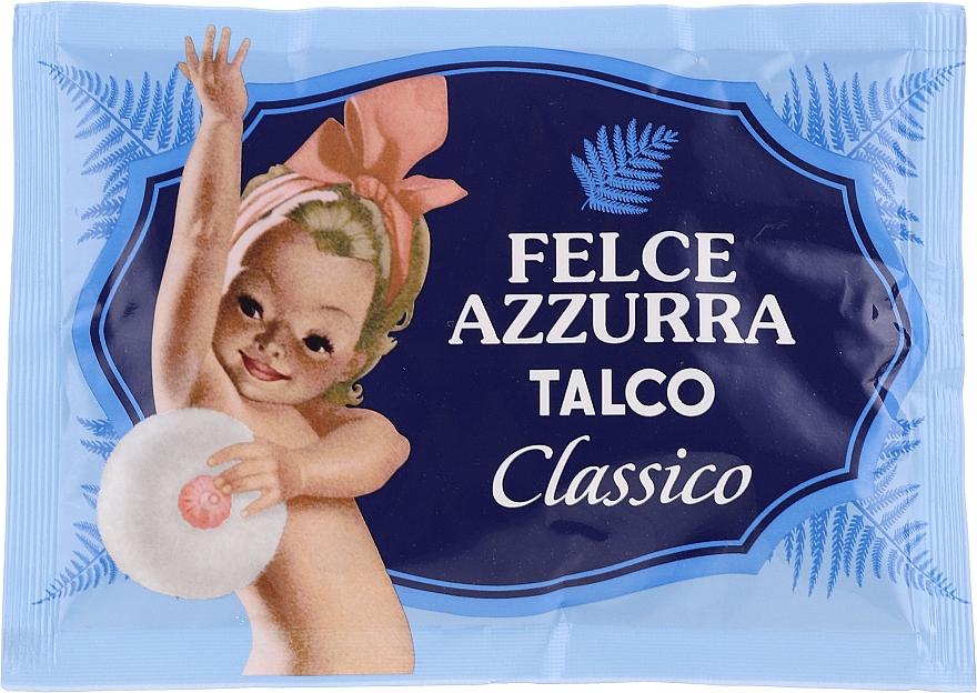 Polvo de talco corporal natural perfumado clásico - Felce Azzurra Classic Talcum Powder