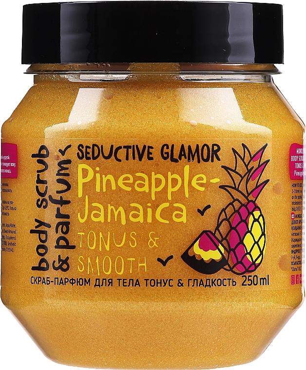 Exfoliante corporal con extracto de piña - MonoLove Bio Pineapple-Jamaica Tonus & Smoothness Scrub