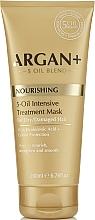 Perfumería y cosmética Mascarilla capilar nutritiva con aceite de argán y ácido hialurónico - Argan + Nourishing 5-Oil Intensive Treatment Mask