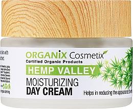 Perfumería y cosmética Crema de día hidratante con aceite orgánico de cáñamo - Organix Cosmetix Hemp Valley Moisturizing Day Cream