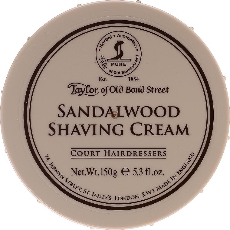 Crema de afeitar con aroma a sándalo - Taylor of Old Bond Street Sandalwood Shaving Cream Bowl