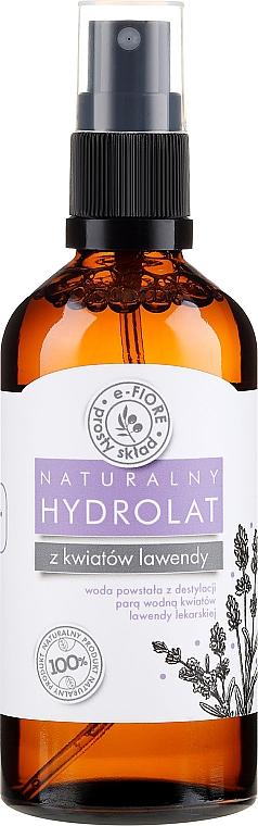 Hidrolato natural de lavanda - E-Fiore Hydrolat