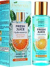 Perfumería y cosmética Hidroesencia facial de naranja y ácido hialurónico - Bielenda Fresh Juice Hydro Essential Orange