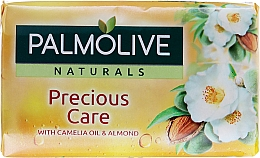Jabón con aceite de camelia & almendra - Palmolive Precious Care Camelia Oil & Almond — imagen N1