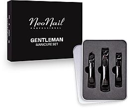Perfumería y cosmética Set de manicura y pedicura para hombres - NeoNail Professional Gentleman Manicure Set