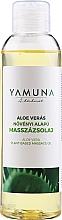 Perfumería y cosmética Aceite de masaje con aloe vera - Yamuna Aloe Vera Vegetable Massage Oil