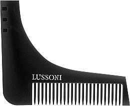 Perfumería y cosmética Peine para barba - Lussoni BC 600 Barber Comb