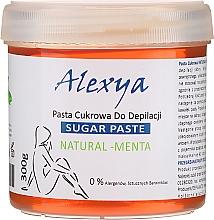 Perfumería y cosmética Pasta depilatoria de azúcar con agua de menta - Alexya Sugar Paste Natural Menta
