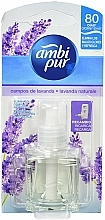 Perfumería y cosmética Recarga para difusor eléctrico, aroma lavanda - Ambi Pur Electric Air Freshener Refill Lavander