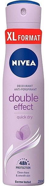 Desodorante spray antitranspirante - Nivea Doble Effect Deodorant