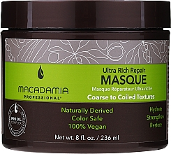 Perfumería y cosmética Mascarilla capilar reparadora con aceite de macadamia - Macadamia Professional Ultra Rich Repair Mask