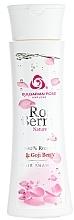 Perfumería y cosmética Champú con extracto de bayas de goji, aceite y agua de rosa natural - Bulgarian Rose Rose Berry Nature