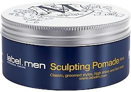 Perfumería y cosmética Pomada de moldeadora de cabello de fijación firme - Label.m Men Sculpting Pomade