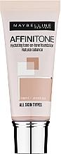 Perfumería y cosmética Base de maquillaje hidratante con vitamina E y aceite de argán - Maybelline Affinitone