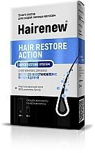 Perfumería y cosmética Tratamiento reparador de cabello con lanolina, colágeno y queratina - Hairenew Hair Restore Action Super Restore System