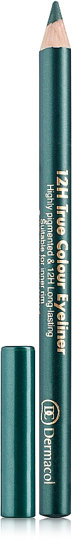 Lápiz de ojos - Dermacol 12h True Colour Eyeliner