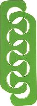 Perfumería y cosmética Separador para pedicura 7583, verde - Top Choice