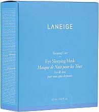 Perfumería y cosmética Mascarilla de noche para contorno de ojos con extracto de quinoa - Laneige Sleeping Care Sleeping Eye Mask