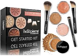 Perfumería y cosmética Set básico de maquillaje - Bellapierre Get Started Kit Deep