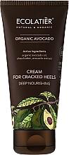 Perfumería y cosmética Crema para talones con extracto y aceite de aguacate orgánico - Ecolatier Organic Avocado Cream For Cracked Heels