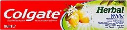 Perfumería y cosmética Pasta dental blanqueadora con aceite cítrico y de eucalipto - Colgate Herbal White With Lemon Oil