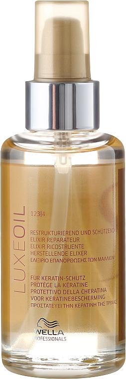 Elixir para cabello con queratina y aceite de argán - Wella SP Luxe Oil Reconstructive Elixir