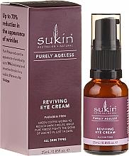 Perfumería y cosmética Crema contorno de ojos revitalizante - Sukin Purely Ageless Reviving Eye Cream