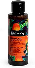 Perfumería y cosmética Aceite bronceador con mango y zanahoria negra - Bio Happy Hair & Body Tanning Oil Mango And Black Carrot