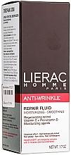 Fluido facial con vitamina C y pro vitamina D - Lierac Homme Anti-rides Fluide — imagen N1