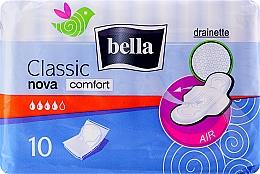 Perfumería y cosmética Compresas, 10uds. - Bella Classic Nova Comfort Drainette