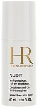 Perfumería y cosmética Desodorante roll on antitranspirante para pieles sensibles, sin alcohol - Helena Rubinstein Nudit Anti-perspirant Roll-on Deodorant