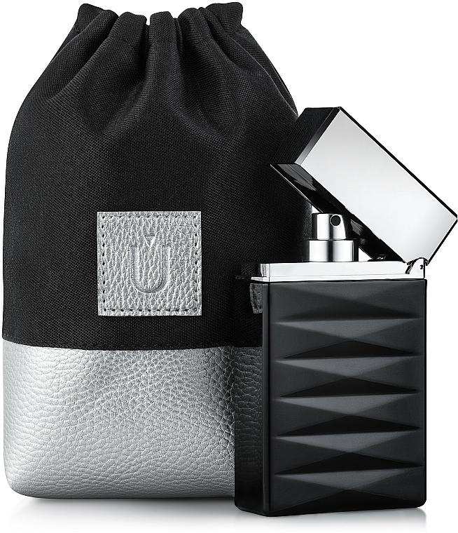 Bolso cosmético, negro (15x10x6cm) - MakeUp Perfume Dress (vacío)