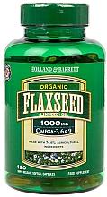 Perfumería y cosmética Complemento alimenticio en cápsulas de aceite de linaza - Holland & Barrett Flaxseed Oil Organic 1000mg